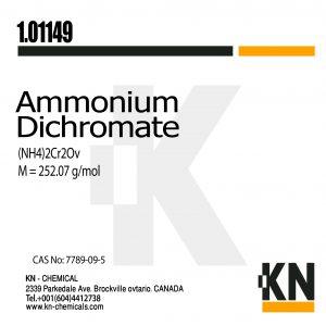 دی کرومات آمونیوم