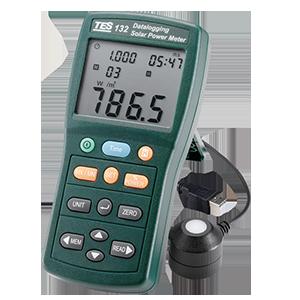 سولار-پاور-متر-دیتالاگر-مدل-TES-132