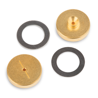 Inlet Seals, 0.8mm Gold Plated For Agilent GCs, 2-pk.
