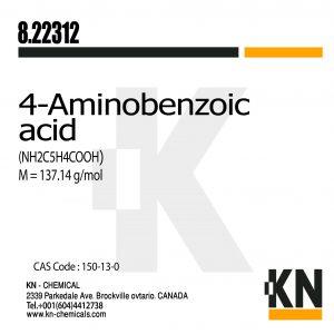 آمینو بنزوئیک اسید – پارا آمینو بنزوئیک اسید