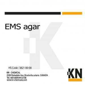 EMS agar - KN