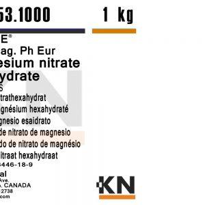 نیترات منیزیم شش آبه KN 100gr