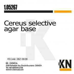 cereus selective agar base
