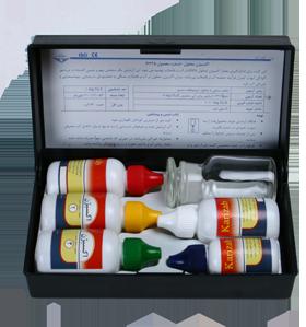 کیت سنجش اکسیژن کاریزاب - آب خام و تصفیه شده کد 4335