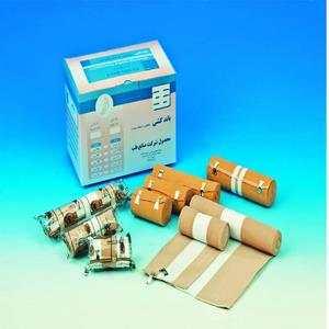 باند کشی فشاری با فشار متوسط در سایز های مختلف