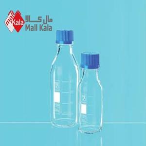 شیشه درپیچدار آبی(بطری آزمایشگاهی)