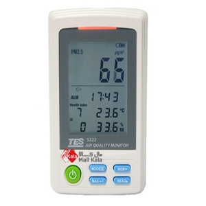 دستگاه اندازه گیری آلودگی هوا مدلTES-5322