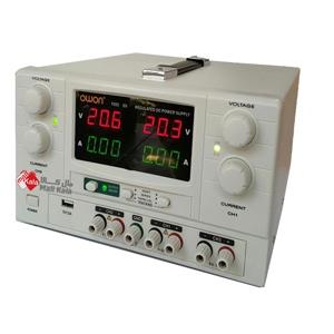 منبع تغذیه دوبل 30ولت 3 آمپر OWON مدل P3033
