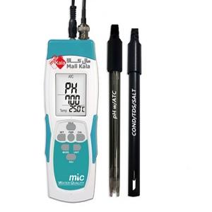 مولتی متر و کیفیت سنج پرتابل آب MIC مدل 987A2-PC