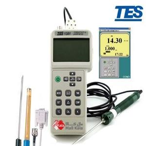 TDSمتر دیتالاگر مدل TES-1381k ساخت TES تایوان