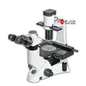میکروسکوپ اینورت بیولوژی سه چشمی برند Novel