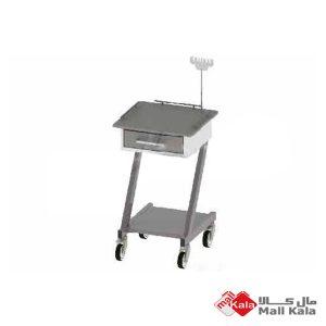 ترالی الکترو کاردیوگرافی استیل PTR43 راد طب